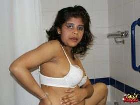 Indian Sex Goddess Rupali Shower
